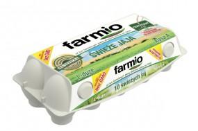 Świeże jaja Farmio