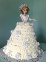 tort kolor biały
