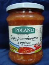 Zupa koszerna  pomidorowa z ryżem zagęszczona wegetariańska 460 g