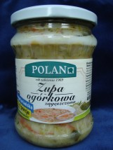Zupa koszerna ogórkowa zagęszczona wegetariańska 460 g