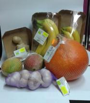 Świeże owoce i warzywa z gospodarstw ekologicznych