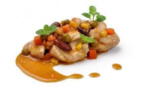 Kurczak na sposób ogrodnika (2 porcje)