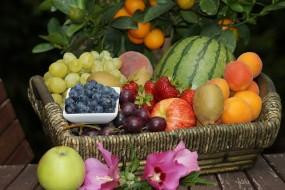 Kosze z owocami