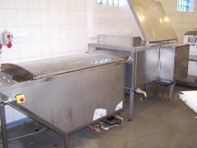 Linia do gotowania i schładzania pierogów z pakowaniem
